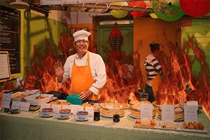 Food Preparation Under High Heat